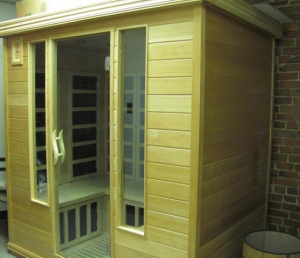 Relax in one of our saunas